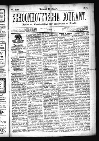 Schoonhovensche Courant 1916-03-14