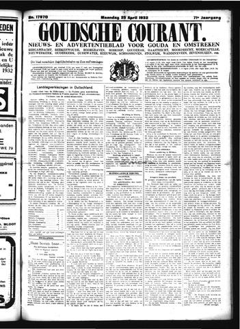 Goudsche Courant 1932-04-25