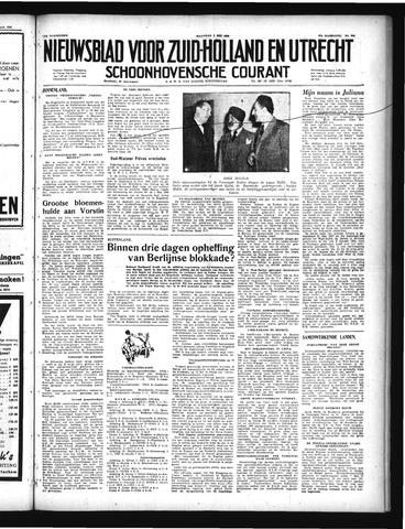 Schoonhovensche Courant 1949-05-02