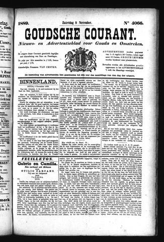 Goudsche Courant 1889-11-09