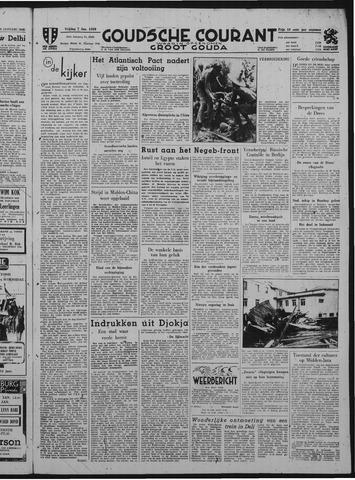 Goudsche Courant 1949-01-07
