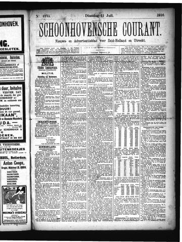 Schoonhovensche Courant 1916-07-11