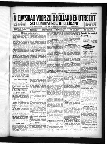 Schoonhovensche Courant 1934-10-03