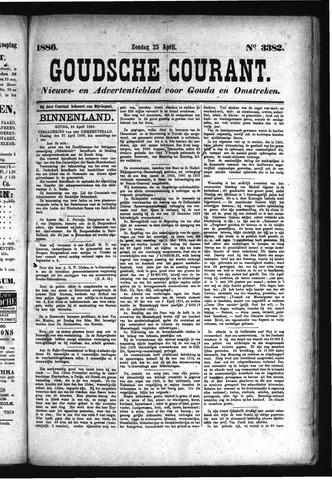 Goudsche Courant 1886-04-25