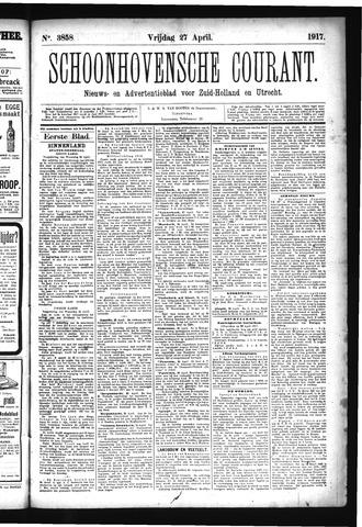 Schoonhovensche Courant 1917-04-27