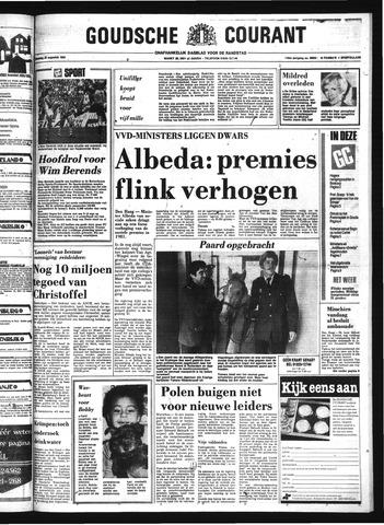 Goudsche Courant 1980-08-25