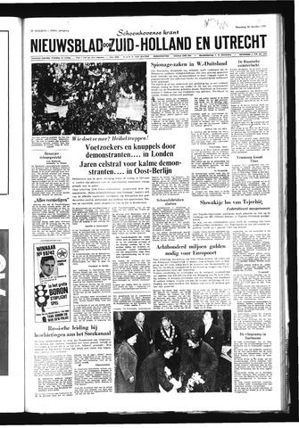 Schoonhovensche Courant 1968-10-28