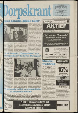 Dorpskrant 1991-06-12