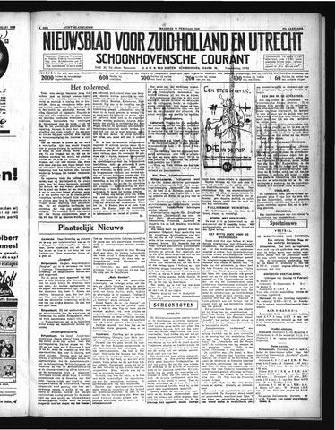 Schoonhovensche Courant 1935-02-11