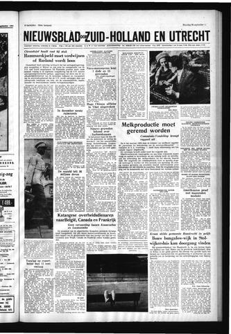 Schoonhovensche Courant 1960-09-26