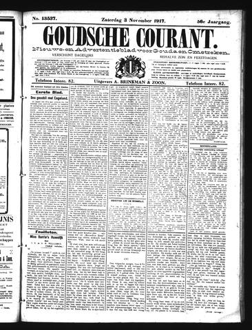Goudsche Courant 1917-11-03