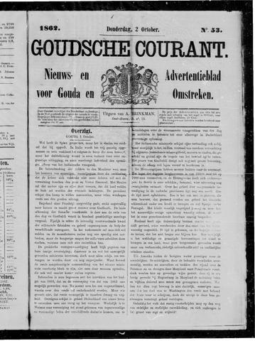 Goudsche Courant 1862-10-02