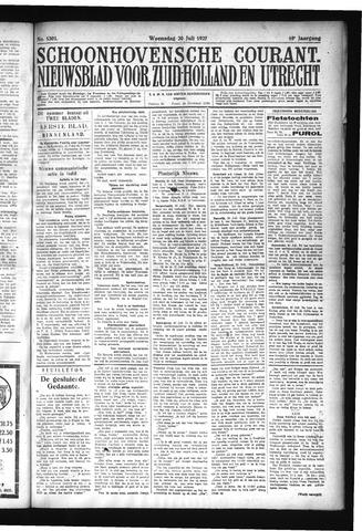 Schoonhovensche Courant 1927-07-20