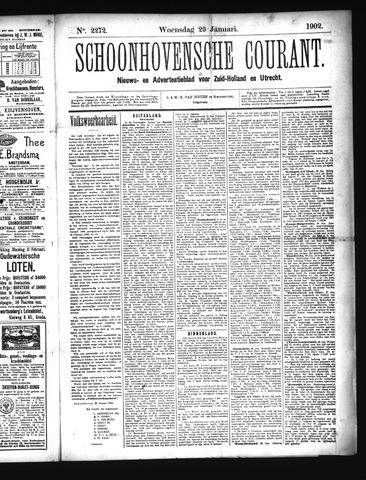 Schoonhovensche Courant 1902-01-29