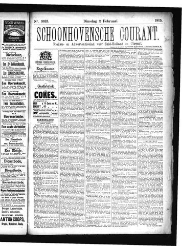 Schoonhovensche Courant 1915-02-02