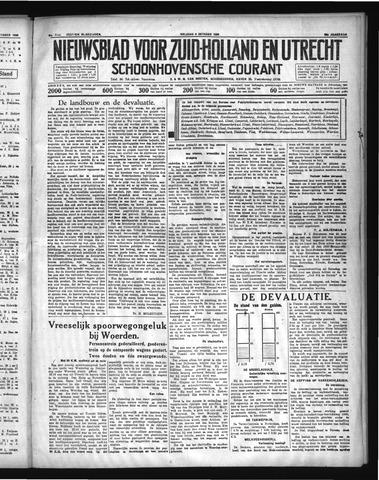 Schoonhovensche Courant 1936-10-09
