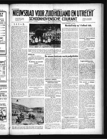 Schoonhovensche Courant 1949-07-29