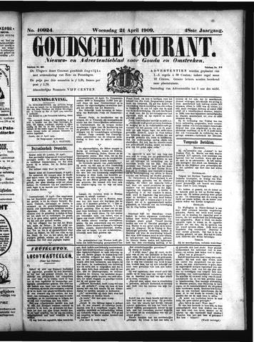 Goudsche Courant 1909-04-21