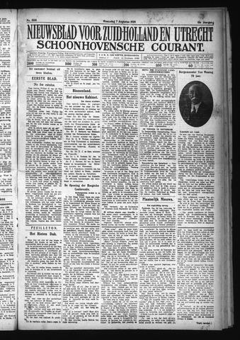 Schoonhovensche Courant 1929-08-07