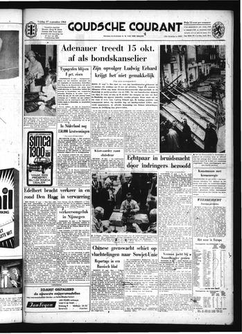 Goudsche Courant 1963-09-27