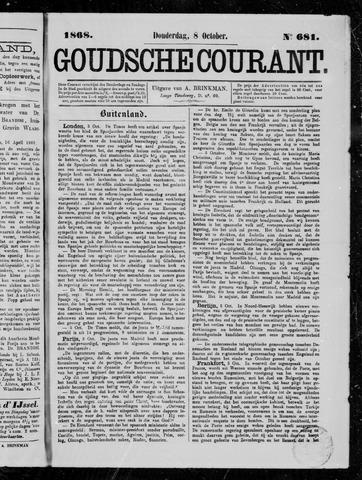 Goudsche Courant 1868-10-08