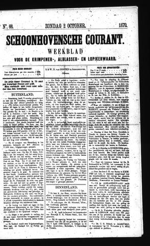 Schoonhovensche Courant 1870-10-02