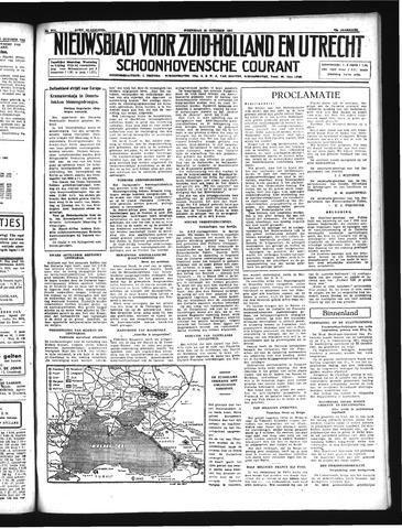 Schoonhovensche Courant 1941-10-29