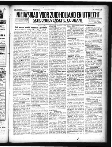Schoonhovensche Courant 1947-08-04