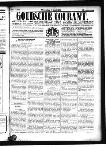 Goudsche Courant 1931-06-17