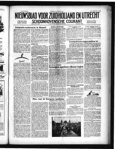 Schoonhovensche Courant 1951-11-28