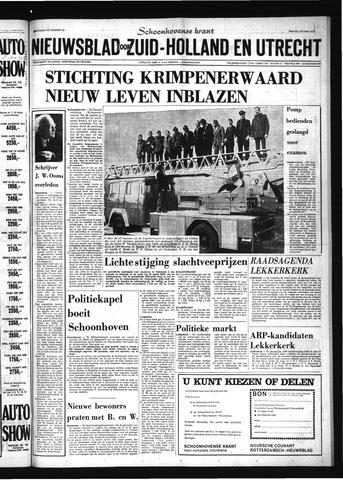 Schoonhovensche Courant 1974-03-18