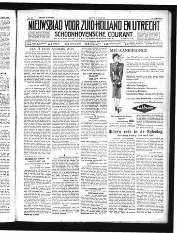 Schoonhovensche Courant 1939-04-28