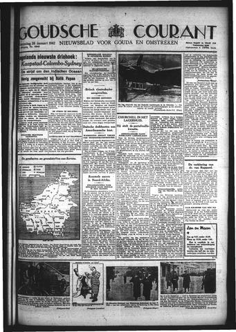 Goudsche Courant 1942-01-28