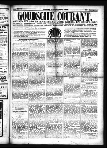 Goudsche Courant 1926-09-14