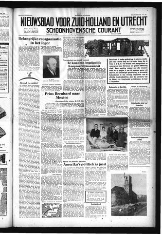 Schoonhovensche Courant 1952-10-29