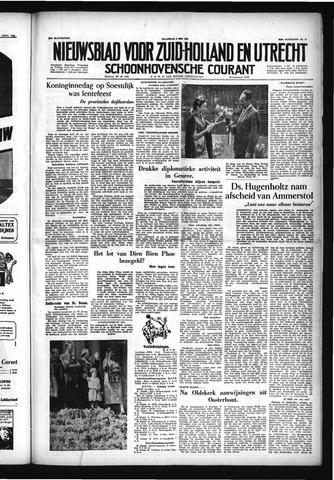 Schoonhovensche Courant 1954-05-03