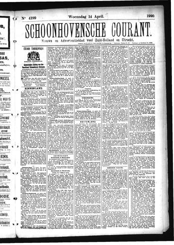 Schoonhovensche Courant 1920-04-14