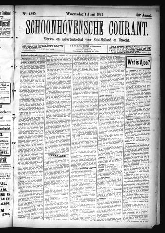 Schoonhovensche Courant 1921-06-01