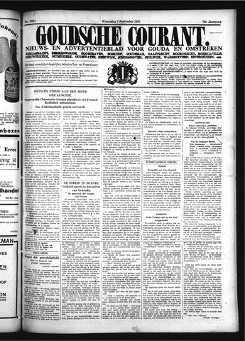Goudsche Courant 1937-09-01