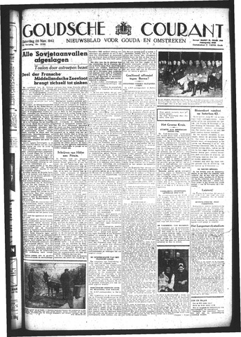 Goudsche Courant 1942-11-28