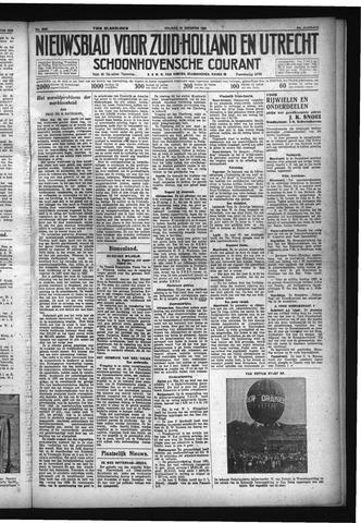 Schoonhovensche Courant 1932-08-19