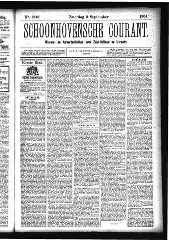 Schoonhovensche Courant 1904-09-03