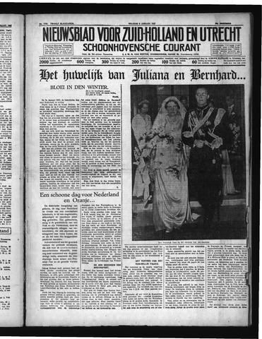 Schoonhovensche Courant 1937-01-08