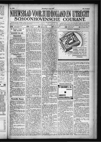 Schoonhovensche Courant 1928-06-13