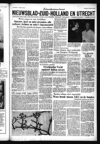 Schoonhovensche Courant 1966-02-14