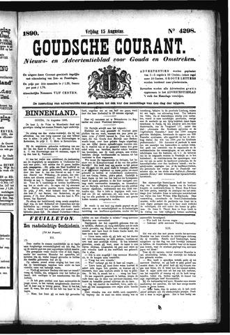 Goudsche Courant 1890-08-15