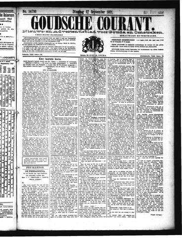Goudsche Courant 1921-09-27