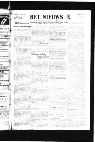 Schoonhovensche Courant 1945-10-22