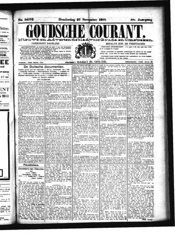 Goudsche Courant 1919-11-27