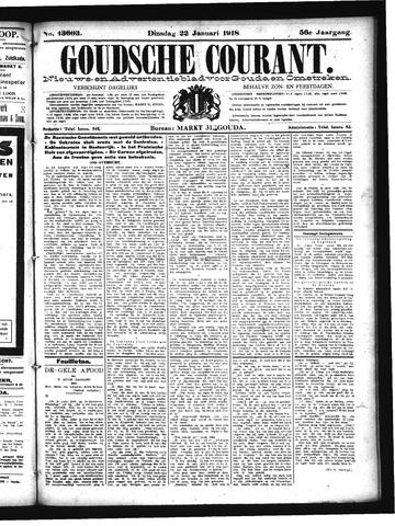 Goudsche Courant 1918-01-22
